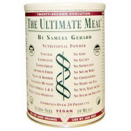 The Ultimate Life, The Ultimate Meal, Intro-Size 400g