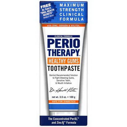 TheraBreath, PerioTherapy Healthy Gums Toothpaste 100g