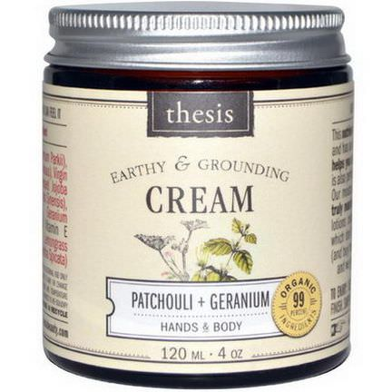 Thesis, Hands&Body Cream, Patchouli Geranium 120ml