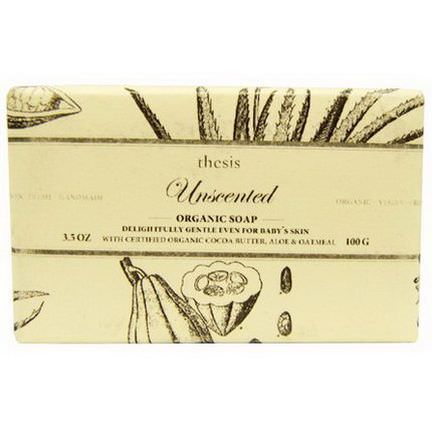Thesis, Organic Soap, Unscented 100g