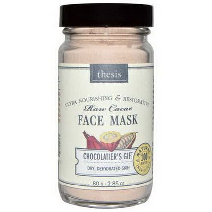 Thesis, Raw Cacao Face Mask, Chocolatier's Gift 80g