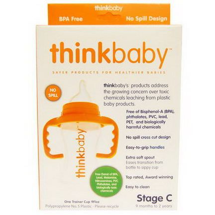 Think, Thinkbaby, Trainer Cup, Stage C, 1 Cup, 9 fl oz