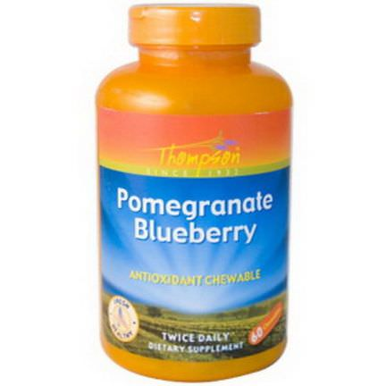 Thompson, Pomegranate Blueberry, Antioxidant Chewable, 60 Chewables