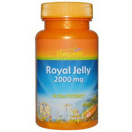 Thompson, Royal Jelly, 2000mg, 60 Capsules