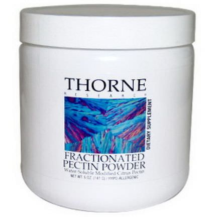 Thorne Research, Fractionated Pectin Powder 141g