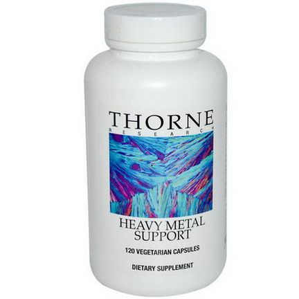 Thorne Research, Heavy Metal Support, 120 Veggie Caps