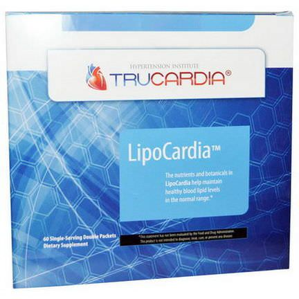 Thorne Research, LipoCardia, 60 Double Packets