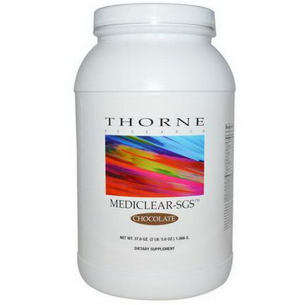 Thorne Research, Mediclear-SGS, Chocolate 1,066g