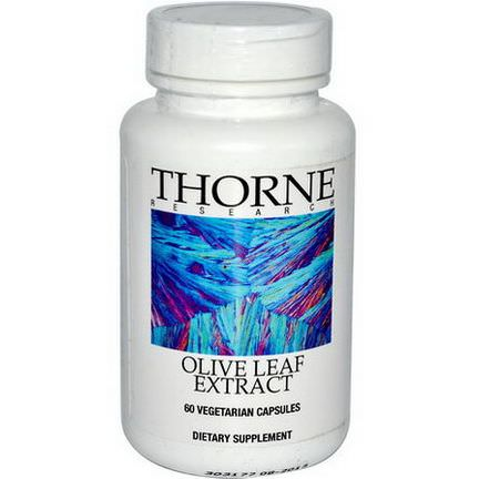 Thorne Research, Olive Leaf Extract, 60 Veggie Caps