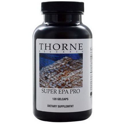 Thorne Research, Super EPA Pro, 120 Gelcaps