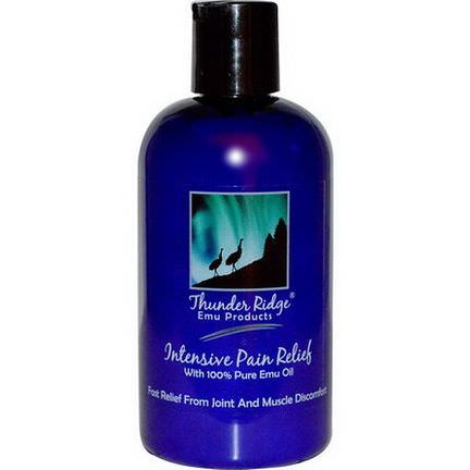 Thunder Ridge Emu Products, Intensive Pain Relief 225ml