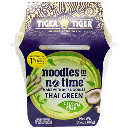Tiger Tiger, Noodles in No Time, Rice Noodles with Thai Green Curry 300g