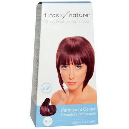 Tints of Nature, Permanent Color, Earth Red, 4RR 130ml