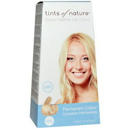 Tints of Nature, Permanent Color, Extra Light Blonde, 10XL 130ml