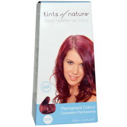 Tints of Nature, Permanent Color, Fiery Red, 5FR 130ml