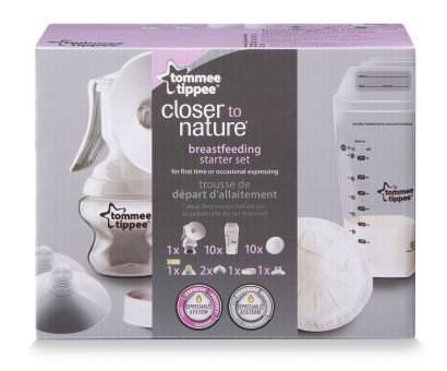 Tommee Tippee, Breastfeeding Starter Set, 7 Piece Kit