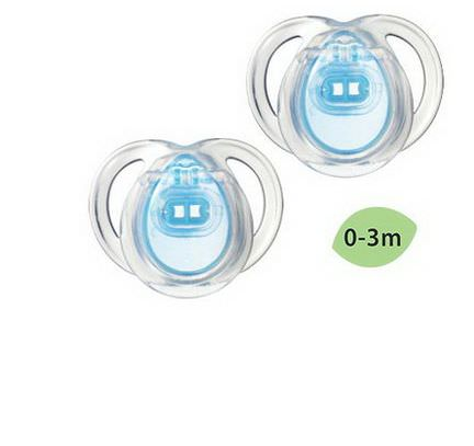 Tommee Tippee, Close to Nature, Every Day Pacifiers, Orthodontic, 2 Pacifiers