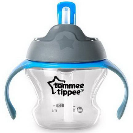 Tommee Tippee, Closer to Nature, First Straw Transition Cup, 6m+, 1 Cup 150ml