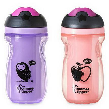 Tommee Tippee, Insulated Sipper Tumblers, 12m+, 2 Cups 260ml Each