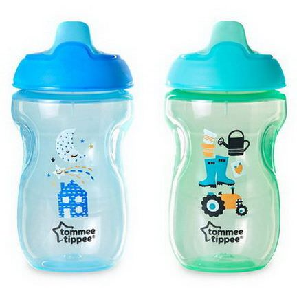Tommee Tippee, Sippee Cups, 9m+, 2 Cups 300ml Each