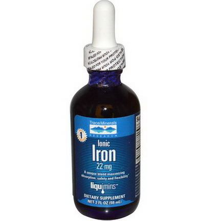 Trace Minerals Research, Ionic Iron, 22mg 59ml