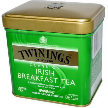 Twinings, Classics, Irish Breakfast Loose Tea 100g