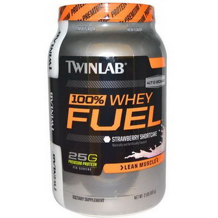 Twinlab, 100% Whey Fuel, Lean Muscle, Strawberry Shortcake 907g