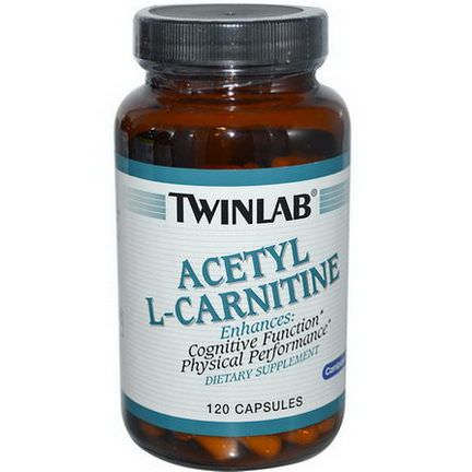 Twinlab, Acetyl L-Carnitine, 120 Capsules