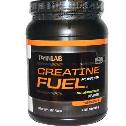 Twinlab, Creatine Fuel Powder, Strength, Unflavored, 5g 908g
