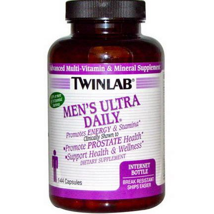 Twinlab, Men's Ultra Daily, 144 Capsules