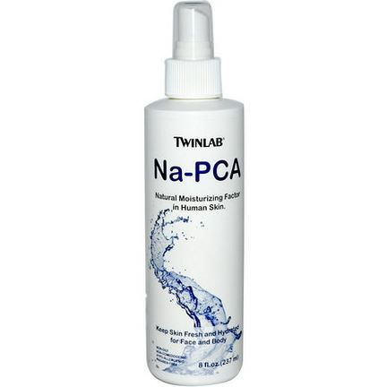 Twinlab, Na-PCA, For Face and Body 237ml