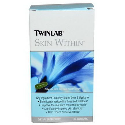 Twinlab, Skin Within, 30 Liquicaps