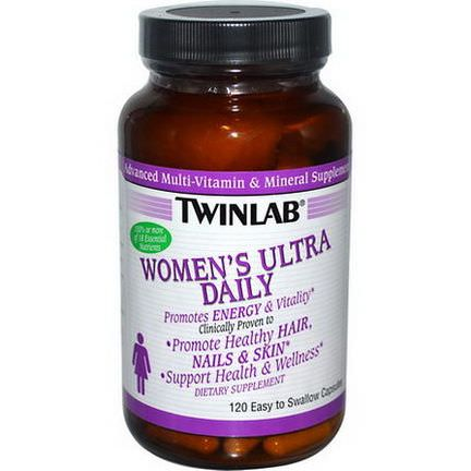 Twinlab, Women's Ultra Daily, 120 Capsules