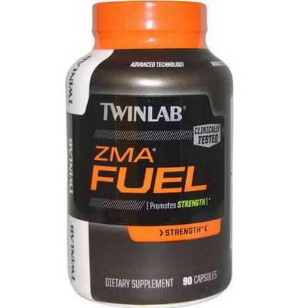 Twinlab, ZMA Fuel, Strength, 90 Capsules