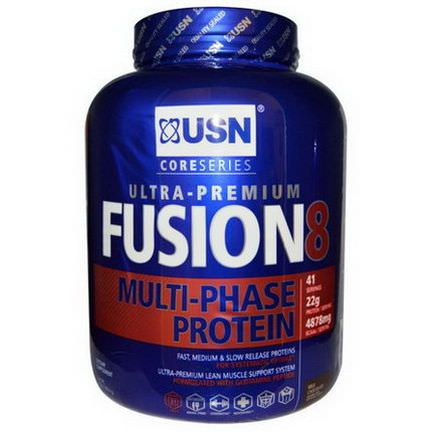 USN, Fusion 8, Multi-Phase Protein, Milk Chocolate 1814g
