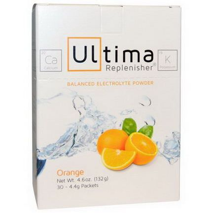 Ultima Health Products, Ultima Replenisher, Orange 132g, 30 Packets
