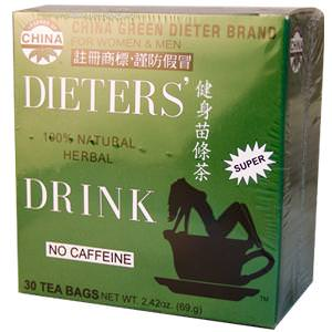 Uncle Lee's Tea, Legends of China, Dieter's 100% Natural Herbal Drink, No Caffeine, 30 Tea Bags 69.g