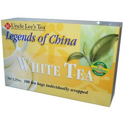 Uncle Lee's Tea, Legends of China, White Tea, 100 Tea Bags 150g