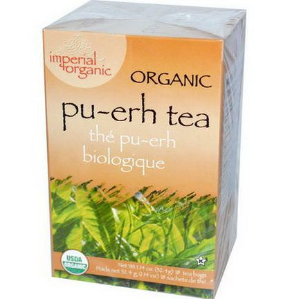 Uncle Lee's Tea, Organic Pu-erh Tea, 18 Tea Bags 32.4g