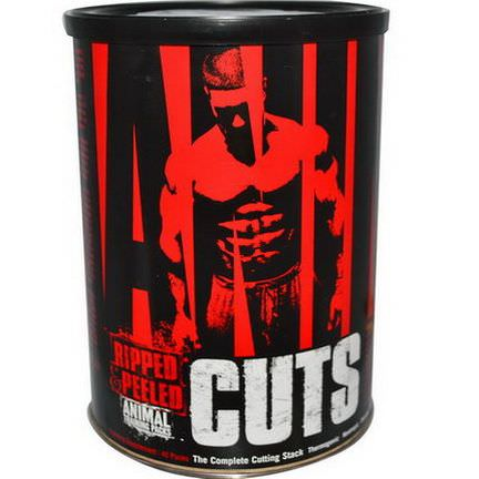 Universal Nutrition, Animal Cuts, Ripped&Peeled, Training Supplement, 42 Packs
