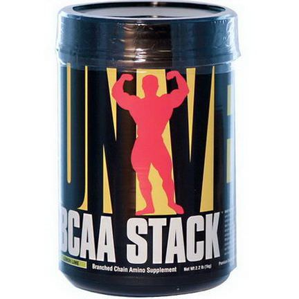 Universal Nutrition, BCAA Stack, Lemon Lime 1 kg