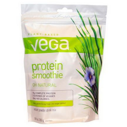 Vega, Protein Smoothie, Oh Natural 252g