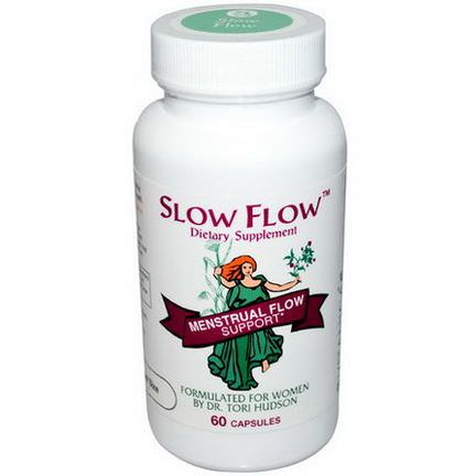Vitanica, Slow Flow, Menstrual Flow Support, 60 Capsules