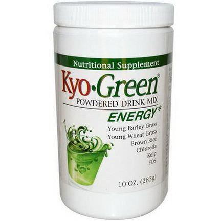 Wakunaga - Kyolic, Kyo-Green, Powdered Drink Mix 283g