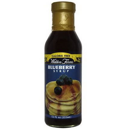 Walden Farms, Blueberry Syrup 355ml