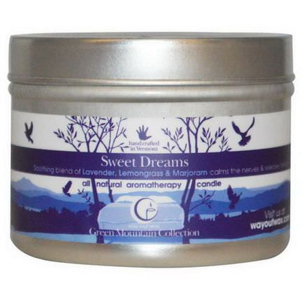 Way Out Wax, All Natural Aromatherapy Candle, Sweet Dreams 85g