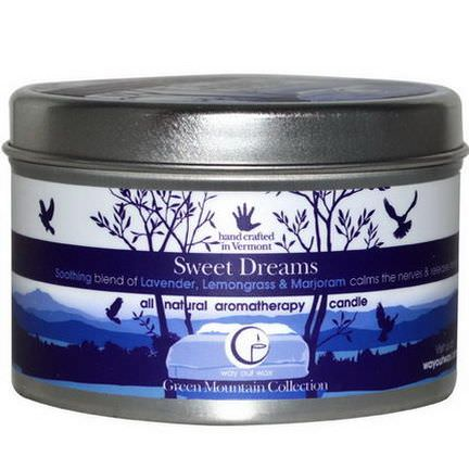 Way Out Wax, All Natural Aromatherapy Candle, Sweet Dreams 190g
