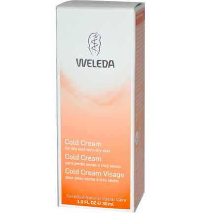 Weleda, Cold Cream, For Dry and Very-Dry Skin 30ml
