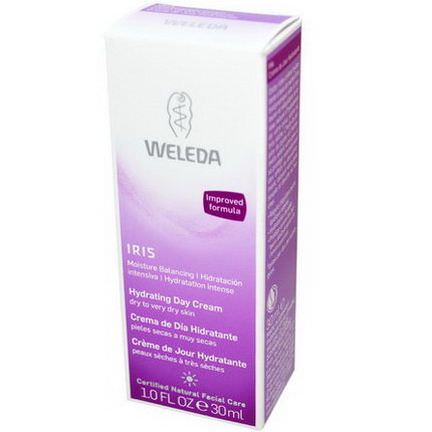 Weleda, Hydrating Day Cream, Iris 30ml