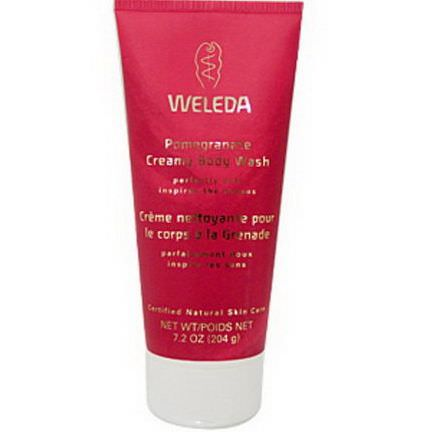 Weleda, Pomegranate Creamy Body Wash 204g